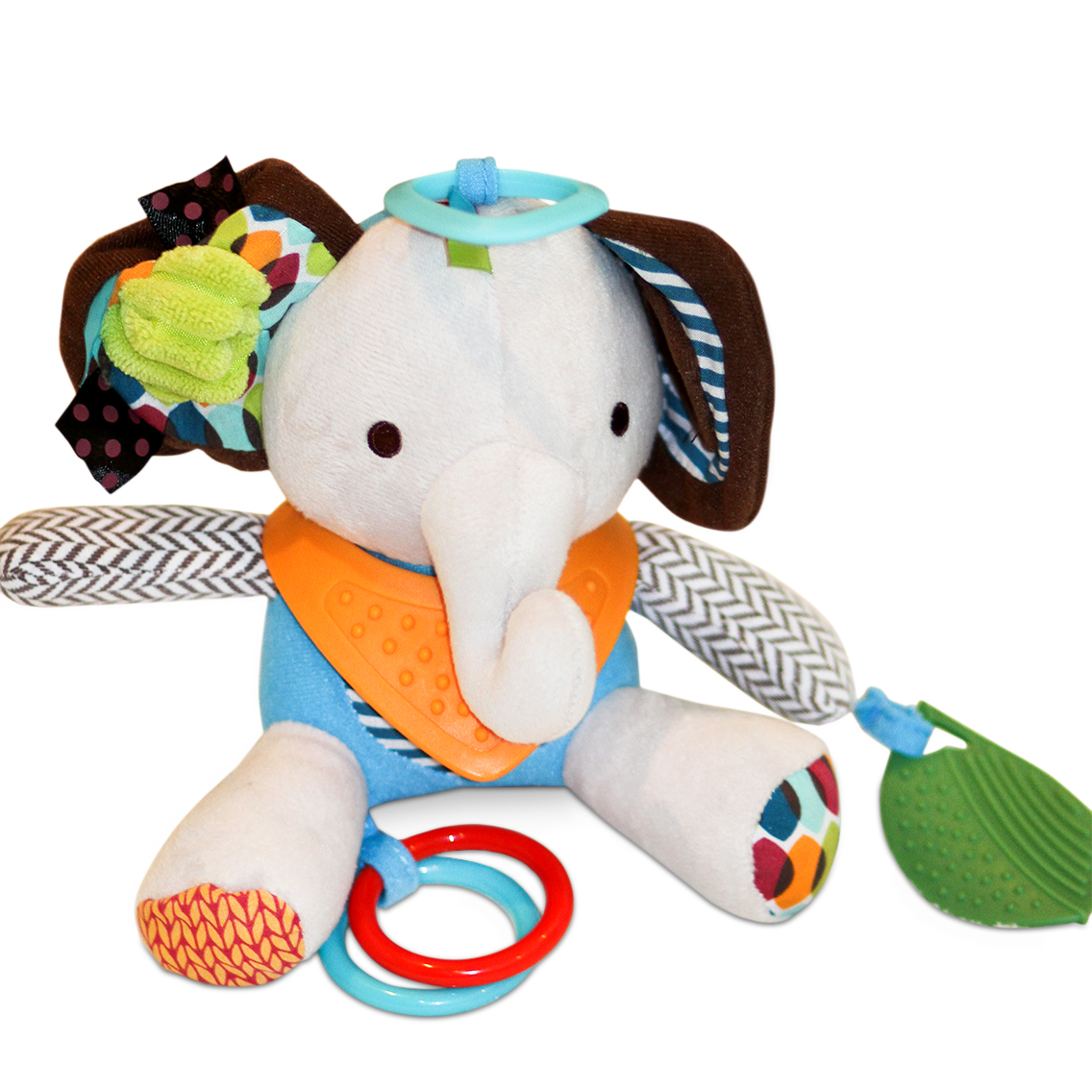Ellie The Elephant Teether Plush Toy Relief From Teething Pain