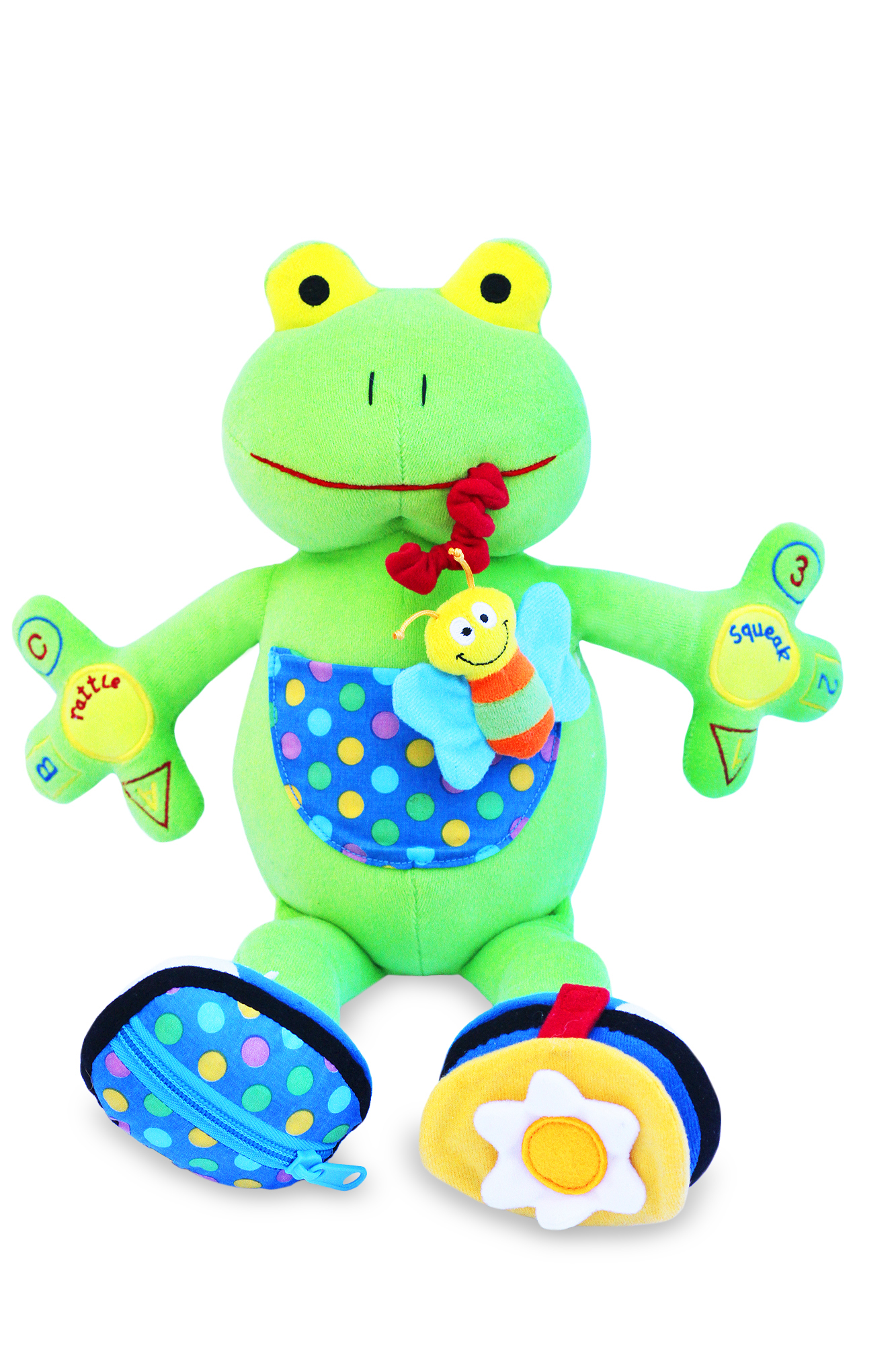 Baby Activity Toys : My pal jumper the frog activity toy best educational