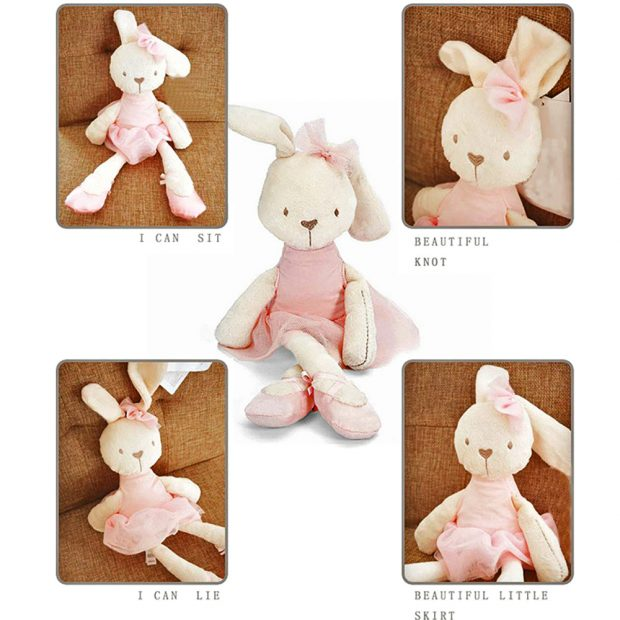 The Sophia Ballerina Bunny Rabbit Stuffed Animal