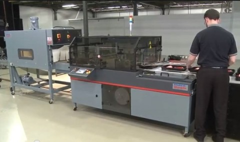 Shrink Wrap Machine with Shrink Tunnel